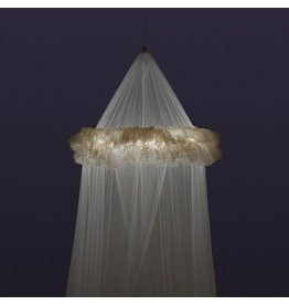 3 Cheers for Girls Dream Lights Canopy - White