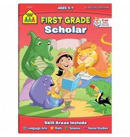 School Zone Workbook - First Grade Scholar - Deluxe Edition