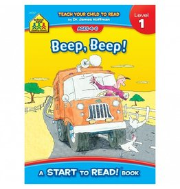 School Zone Book - Beep, Beep!