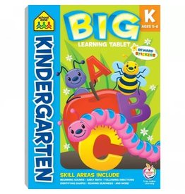 School Zone Workbook - BIG Learning Tablet Kindergarten