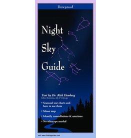 Steven M Lewers and Associates Waterproof Guide - Night Sky Guide
