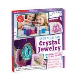 Klutz Klutz Grow Your Own Crystal Jewelry