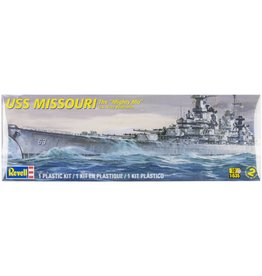 Revell Plastic Model Kit-USS Missouri Battleship 1:535