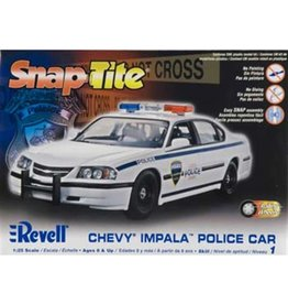 Revell Plastic Model Kit-'05 Chevy Impala Police Car 1:25