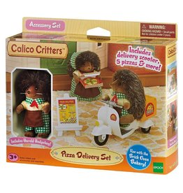 International Playthings Calico Critters Pizza Delivery Set