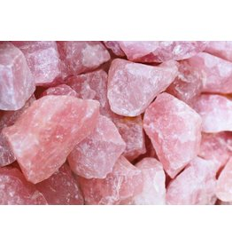 Squire Boone Village Rock/Mineral - Rose Quartz (Rough, Double Half Dollar size)