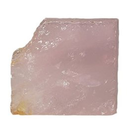 "Squire Boone Village Rose Quartz (Polished Slab (~2"" across)"