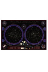 Round world Wall Chart - Wonders of the Constellations Laminated