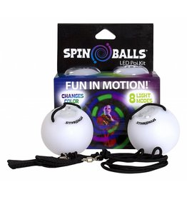SpinBalls LLC Spin Ball LED Poi Kit