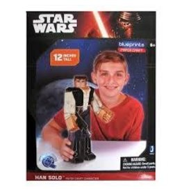 "Zoofy International INC Paper Craft Posable Figure 12"" - Han Solo"