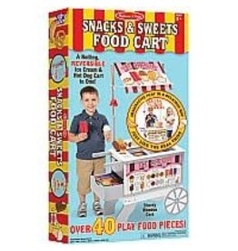 Melissa & Doug Play Food - Snacks & Sweets Food Cart