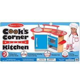 Melissa & Doug Cook's Corner Wooden Kitchen