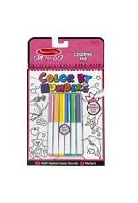 Melissa & Doug On-The-Go Color By Numbers (Pink)