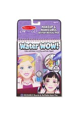 Melissa & Doug On-the-Go Water Wow! - Makeup & Manicures