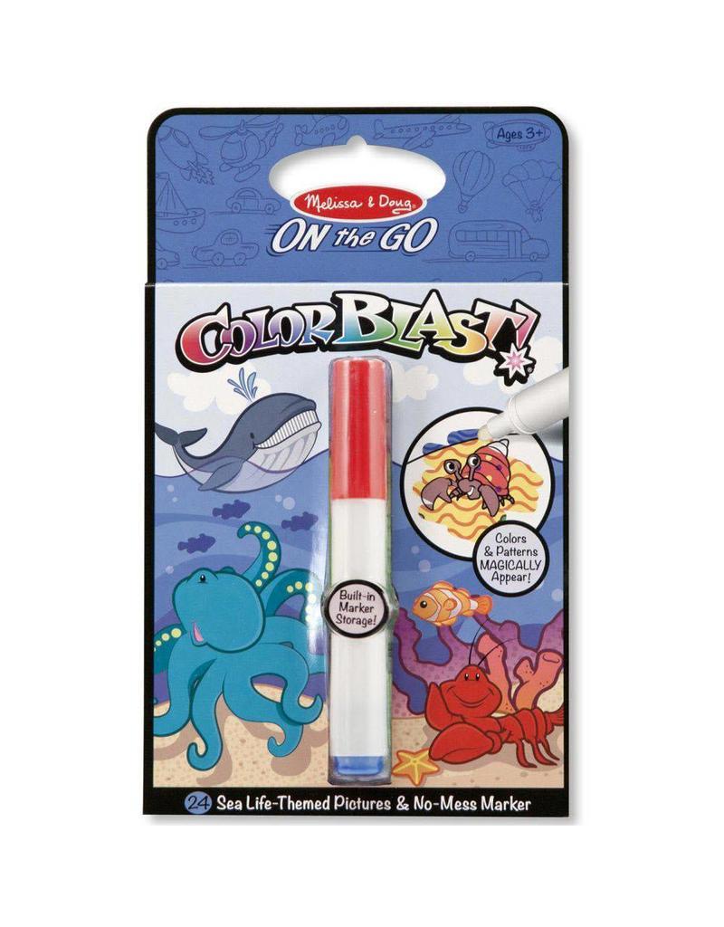 Melissa & Doug Color Blast! - Sea Life