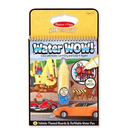 Melissa & Doug On the Go - Water Wow! - Vehicles