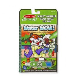 Melissa & Doug On-the-Go Water Wow! - Wacky Animals