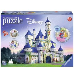 Ravensburger Ravenssburger Puzzle - 3D Disney Castle - 216 Pieces