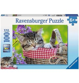 Ravensburger Ravensburger Puzzle - Sleeping Kitten - 100 Piece