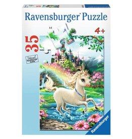 Ravensburger Unicorn Castle Puzzle 35 Pieces