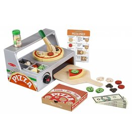 Melissa & Doug Top & Bake Pizza Counter Play Set