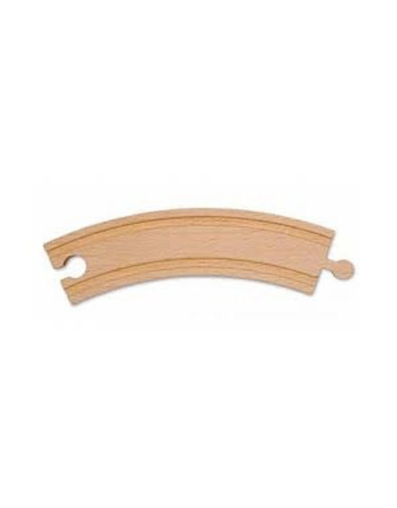 """Melissa & Doug 6"""" Curved Track (Discontinued)"""