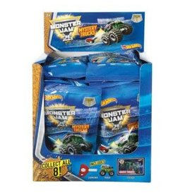 Hot Wheels Hotwheels Monster  Jam Mystery Trucks Series 4