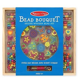 Melissa & Doug Created By Me! Bead Bouquet Deluxe Wooden Bead Set