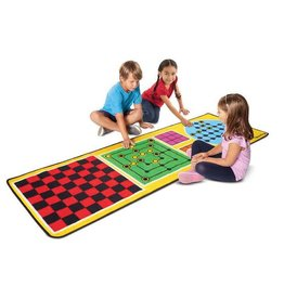 Melissa & Doug Rug - Classic Games 4-in-1