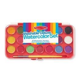 Melissa & Doug Deluxe Watercolor Paint Set (21 colors)