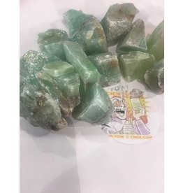 Squire Boone Village Rock/Mineral - Green Calcite