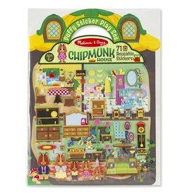 Melissa & Doug Chipmunk House Puffy Sticker Book