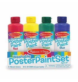 Melissa & Doug Washable Poster Paint Set