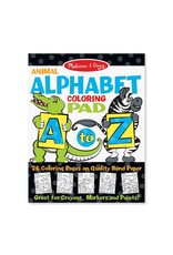Melissa & Doug Coloring Pad - A to Z Animal Alphabet