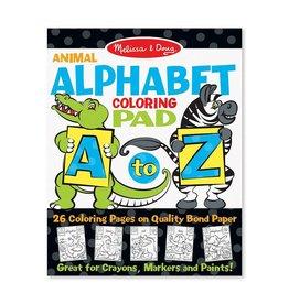 Melissa & Doug Coloring Pad - A to Z Animal Alphabet