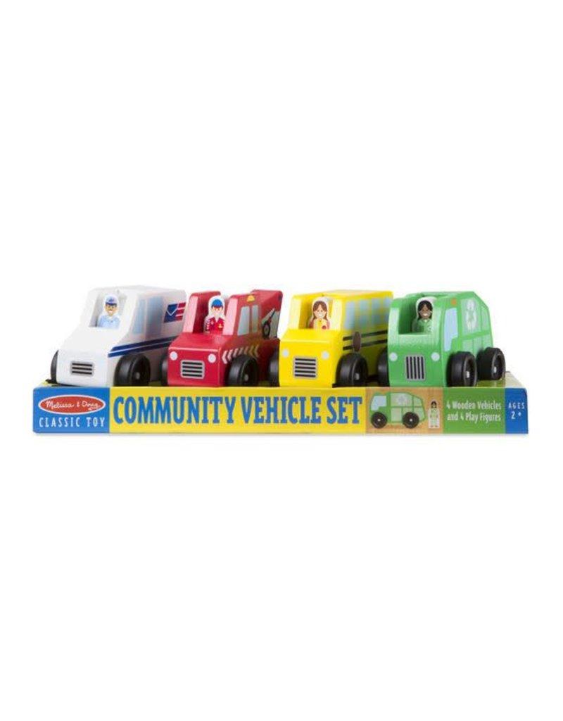 Melissa & Doug Community Vehicles Set