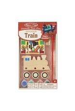 Melissa & Doug Created by Me Wooden Train