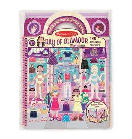 Melissa & Doug Deluxe Puffy Sticker Album - Day of Glamour