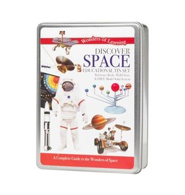 Wonders of Learning Discover Space Educational Tin Set