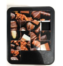 Family Games America Sliding Tile Puzzle - Sweet - Chocolates