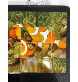 Family Games America Sliding Tile Puzzle - Deep Blue Sea - Clownfish