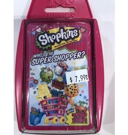 Top Trumps USA Top Trumps Cards Whose The Super Shopper Shopkins