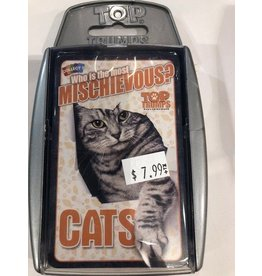 Top Trumps USA Card Game - Top Trumps Cards - Who is the Most Mischievous Cats