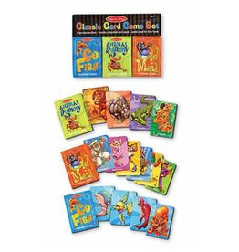 Melissa & Doug Card Game - Classic Set: Rummy, Go Fish, Old Maid