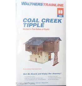 Walthers Hobby Building Walthers Trainline HO Scale - Coal Creek Tipple
