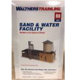 Walthers Hobby Building Walthers Trainline HO Scale  - Sand and Water Facility