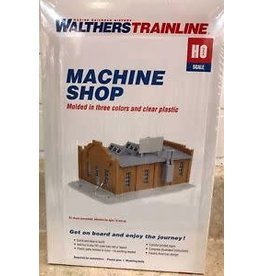 Walthers Hobby Building Walthers Trainline HO Scale - Machine Shop