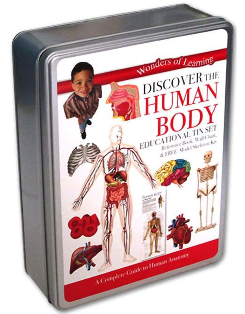 Wonders of Learning Discover the Human Body Educational Tin Set