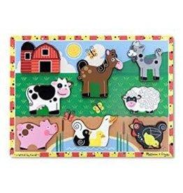 Melissa & Doug Chunky Puzzle - Farm