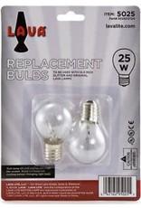 Lava Lite Lava Lamp - 25-Watt Bulb 2-Pack